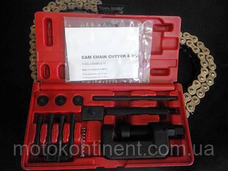 Инструмент для заклепки/расклепки цепей Vicma, фото 2