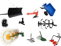 Навесное оборудование и комплектующие для мотоблоков