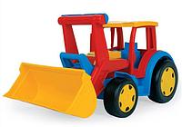 Детский трактор с лопатой из серии Gigant Wader (66000)