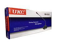 Микрофон для конференций UKC DM MX-632C настольный, гибким держателем, кардиоидный, шумоподавление, индикация