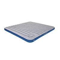 Матрас надувной High Peak Cross-Beam King XL 210x185x20cm (Grey/Blue)