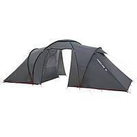 Палатка High Peak Como 4 (Dark Grey/Red)