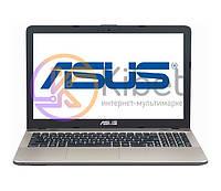 Ноутбук 15' Asus A541NC-GO106 Black/Silver 15.6' глянцевый  LED HD (1366x768), Intel Celeron N3350 1.1GHz, RAM 4Gb, HDD 500Gb, nVidia GeForce 810M