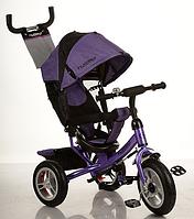 Рехколесный велосипед Turbo Trike M 3113-8 A фиолетовый, фото 1