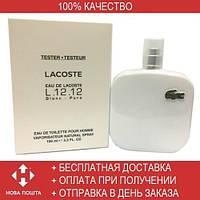 Lacoste Eau de Lacoste L.12.12 Blanc EDT 100ml TESTER (туалетная вода Лакоста О Де Лакосте Л.12.12 Бланк тестер)