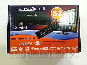 Спутниковый тюнер OpenFox X-6 mini (прошитый с каналами)