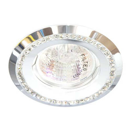 Встраиваемый светильник Feron DL103-W прозрачный белый, фото 2