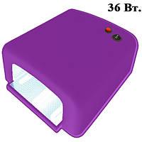 UV-лампа 36 W для Полимеризации Гелей, Гель-Лаков и Акрила, Цвет Фиолетовый