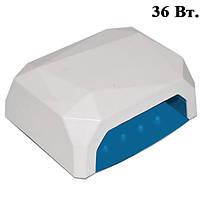 Лампа UV LED 36W Сенсорная для Полимеризации Гелей и Гель-Лаков, Цвет: Белый