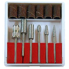 Набор Насадок Фрез для Ногтей, 6 штук, Инструменты для Аппаратного Маникюра и Педикюра, Ногти