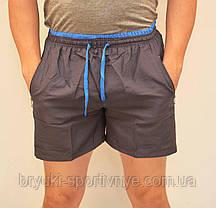 Шорты мужские спортивные -  карманы на молнии, фото 2