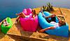Надувной шезлонг гамак диван мешок Ламзак Lamzac, AIR sofa, длина 2 метра!, фото 7