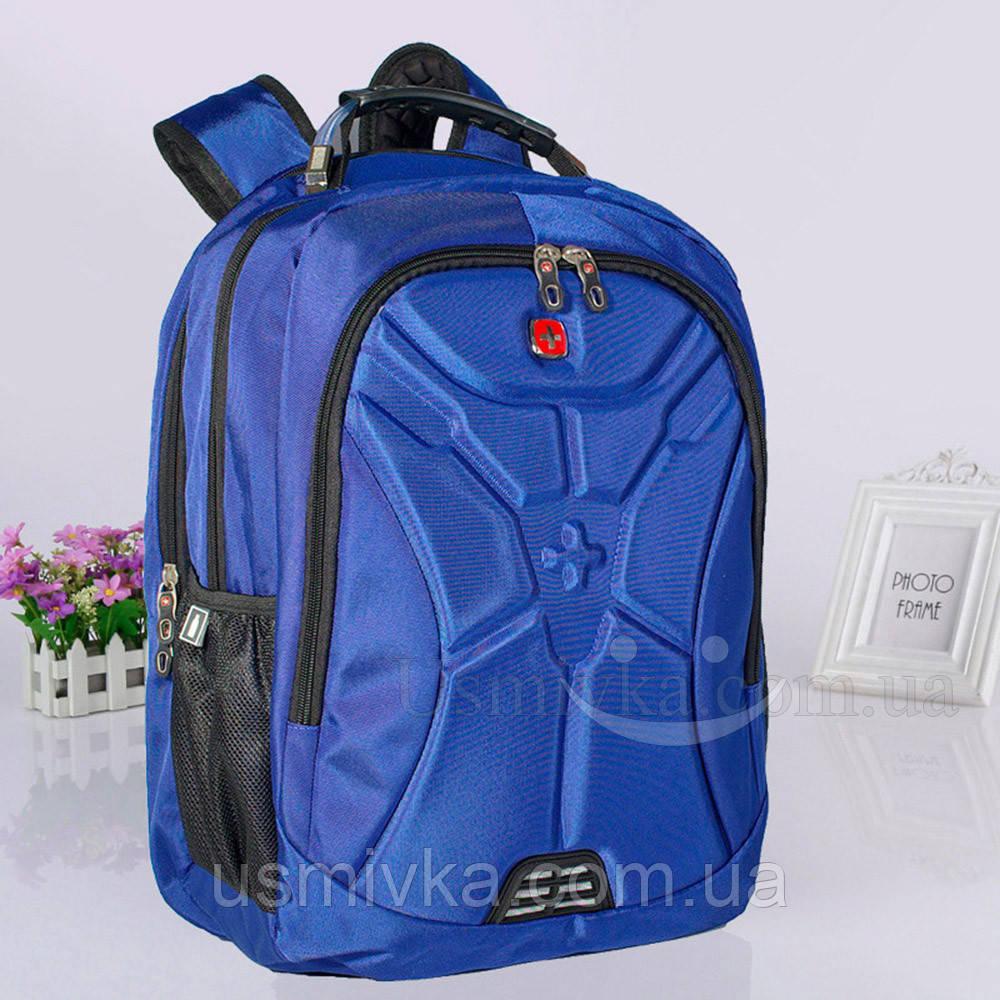7f9c8233de38 Купить Отличный городской рюкзак Swissgear 6022, синий в интернет ...