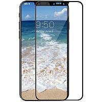 Защитное стекло Mocoll 2.5D 0.3mm Full Cover Tempered Glass Apple iPhone X Black