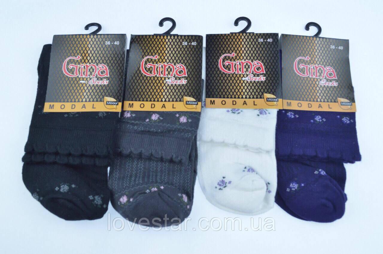 Женские носки GINA 36-40 хлопок