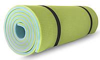 Коврик туристический (каремат) SportVida XPE 1 см SV-EZ0003 Blue/Green