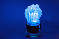 Как сделать светильник в домашних условиях из пластика своими руками часть 1