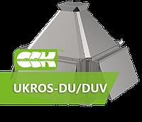Вентилятор крышный радиальный дымоудаления UKROS-DU/DUV-035