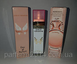 Женский мини парфюм Paco пако рабан олимпия Rabanne Olympea 40 ml (лиц) духи аромат запах пробник тестер
