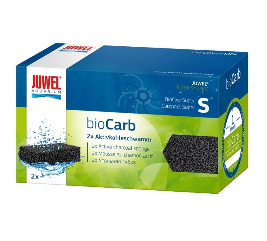 Вугільна губка bioCarb S (Super / Com S) для акваріума JUWEL