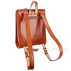 Женский рюкзак из натуральной кожи удивительный 77707, фото 3