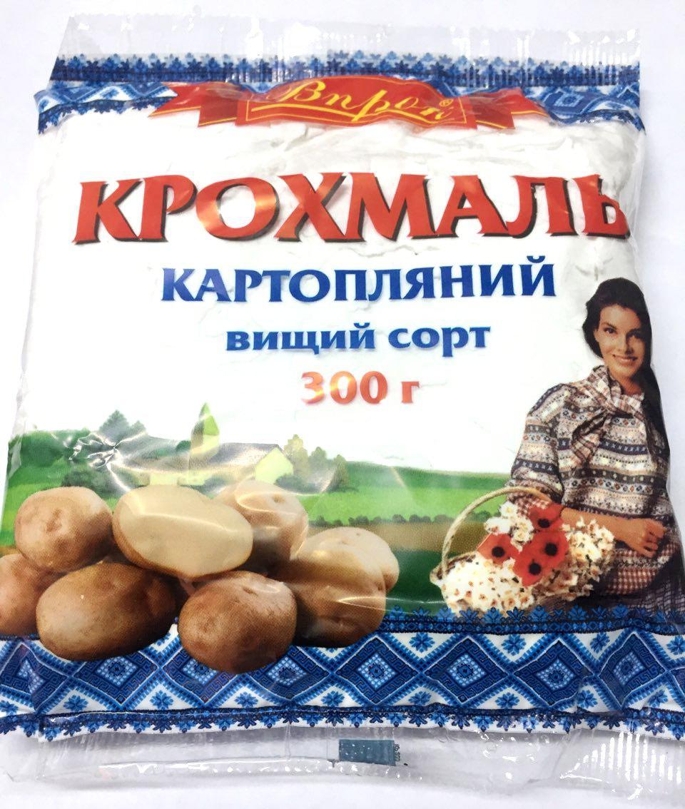 """Крахмал картофельный  300г """"Впрок"""""""