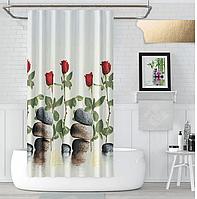 Шторка в ванную Red Rose