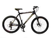 """Горный велосипед 29 дюймов Azimut Swift. Рама 21"""". Дисковые тормоза. Черный, фото 1"""