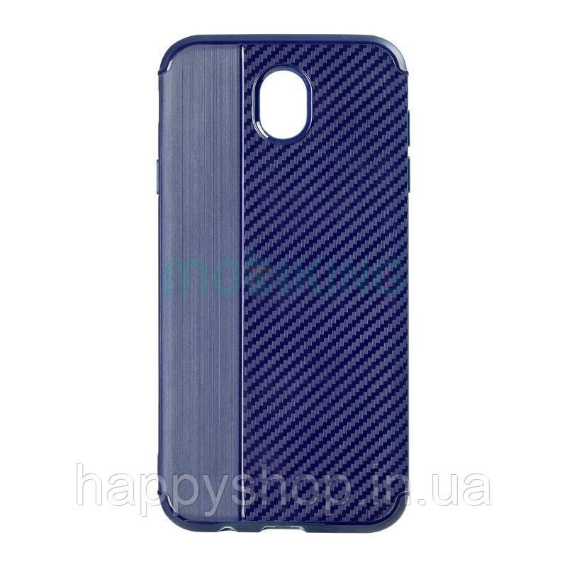 Чехол iPaky Carbon Thin Seria для Huawei P8 Lite 2017 (PRA-LA1) Blue