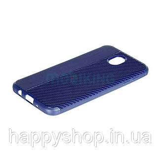 Чехол iPaky Carbon Thin Seria для Huawei P8 Lite 2017 (PRA-LA1) Blue, фото 2