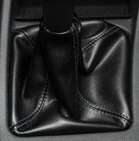 Чехол КПП с рамкой 2170 Приора кожзам черный Avtoban