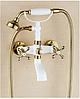 Смеситель для ванной комнаты бронза 2-014