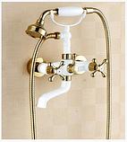 Смеситель для ванной комнаты бронза 2-014, фото 3
