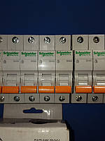 Автоматический выключатель однополюсный Schneider Electric ВА63 1П 63А С
