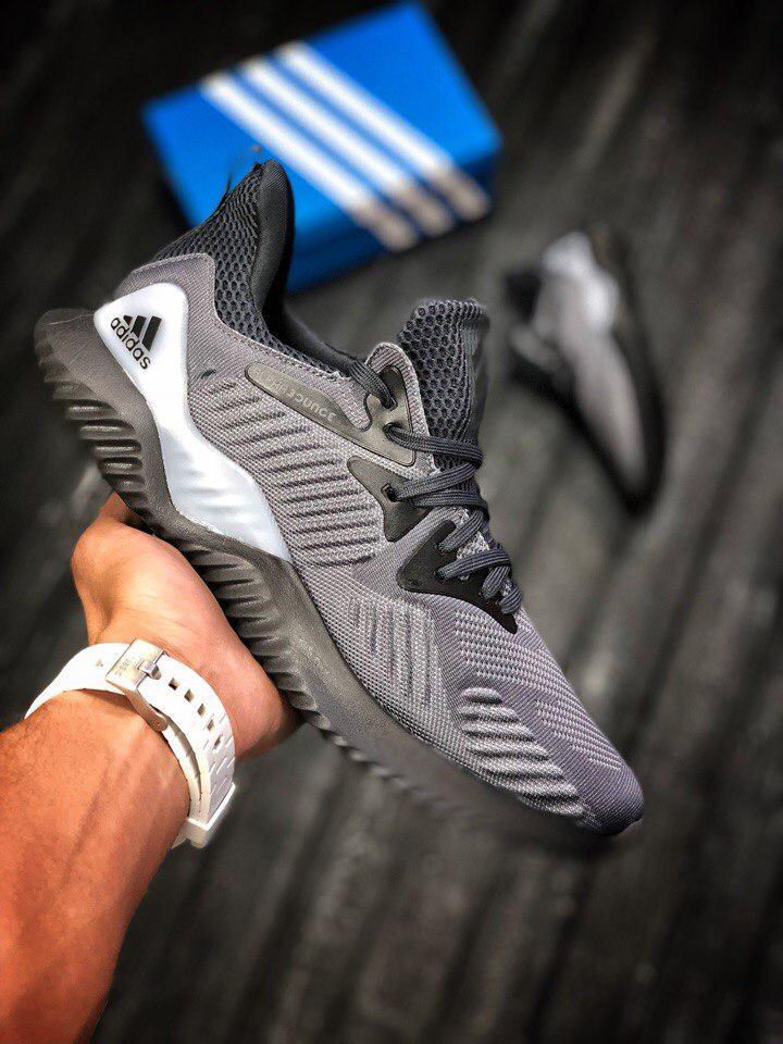 Мужские кроссовки Adidas Alphabounce, Топ Реплика