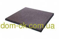 Резиновая плитка для тренажерных залов и фитнеса толщина 20 мм, выбрать цвет Коричневый
