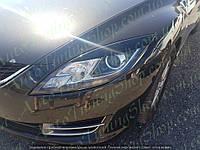 Реснички на передние фары Mazda 6 2008-2013