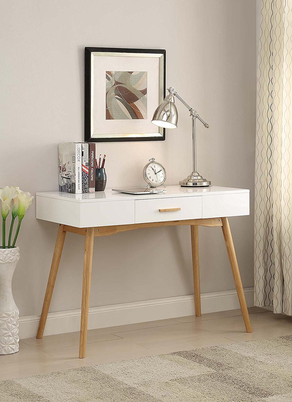 """Письменный стол из натурального дерева """"Бритни"""""""