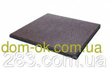 Напольное резиновое покрытие для тренажерных залов и фитнеса, резиновая плитка толщина 40 мм, выбрать цвет