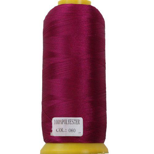 Нитки для машинної вишивки поліестер 40 колір фіолетовий 060