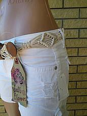 Шорты женские коттоновые стрейчевые WALL FLOWER, фото 3
