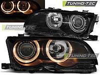 Передние фары тюнинг оптика BMW E46 Coupe