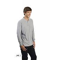 Рубашка-поло с длинным рукавом , фото 1