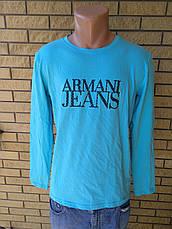 Батник мужской брендовый реплика ARMANI JEANS, фото 3