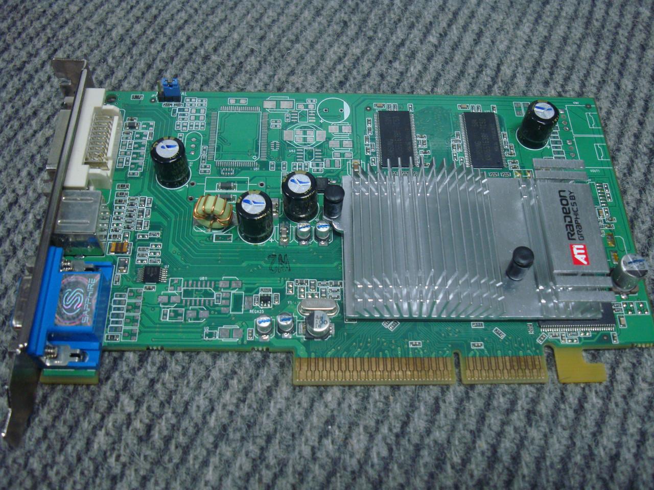 Видеокарта AGP Radeon 9600 256mb