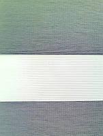 """Жалюзи """"ДЕНЬ-НОЧЬ"""", ш. 100 см. в. 100 см. (тканевые ролеты), открытого типа - Besta mini. BLACKOUT., фото 1"""