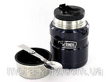 Термос для еды фирмы Термос (Thermos) с ложкой 0,47 л King Food Flask (173020), фото 3