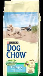 DOG CHOW Puppy.корм для щенков на основе мяса курицы 14кг