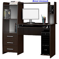 Стол компьютерный с надставкой Лира, фото 2