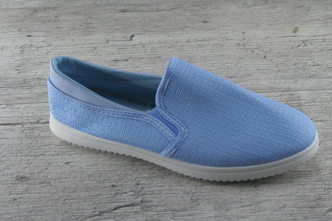 Мокасины, кеды, слипоны женские из текстиля S7P, обувь повседневная, весна- лето